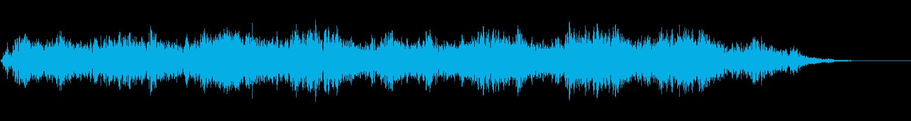 背景音 水中の再生済みの波形
