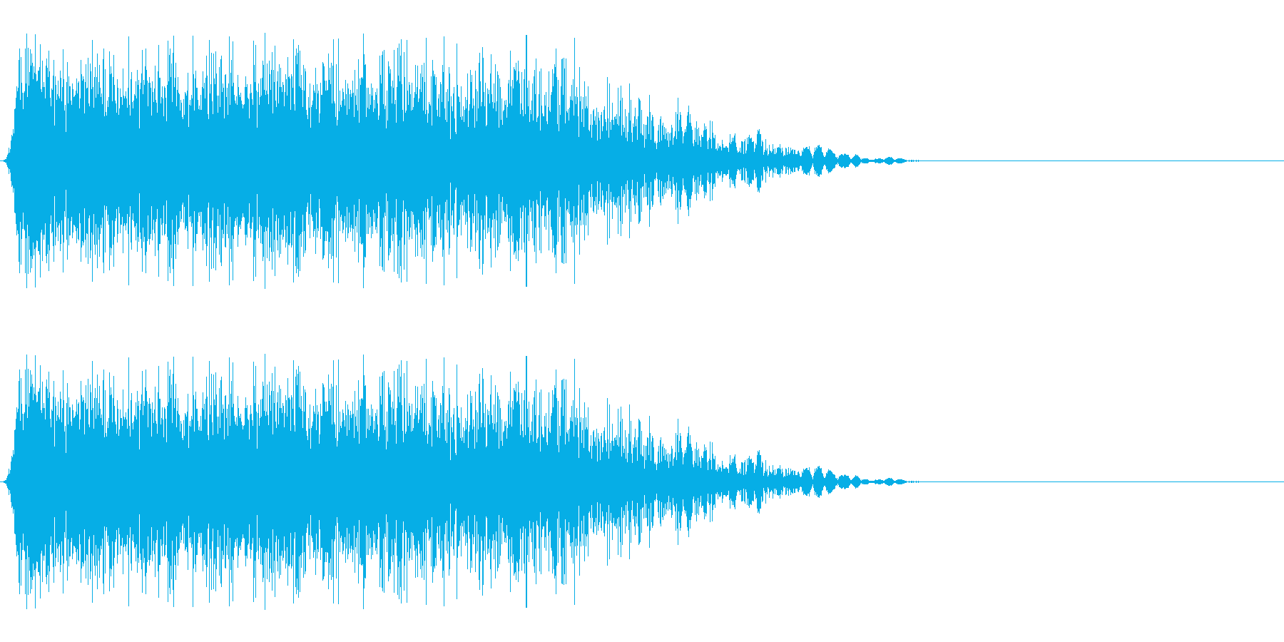 攻撃ヒット音.02の再生済みの波形
