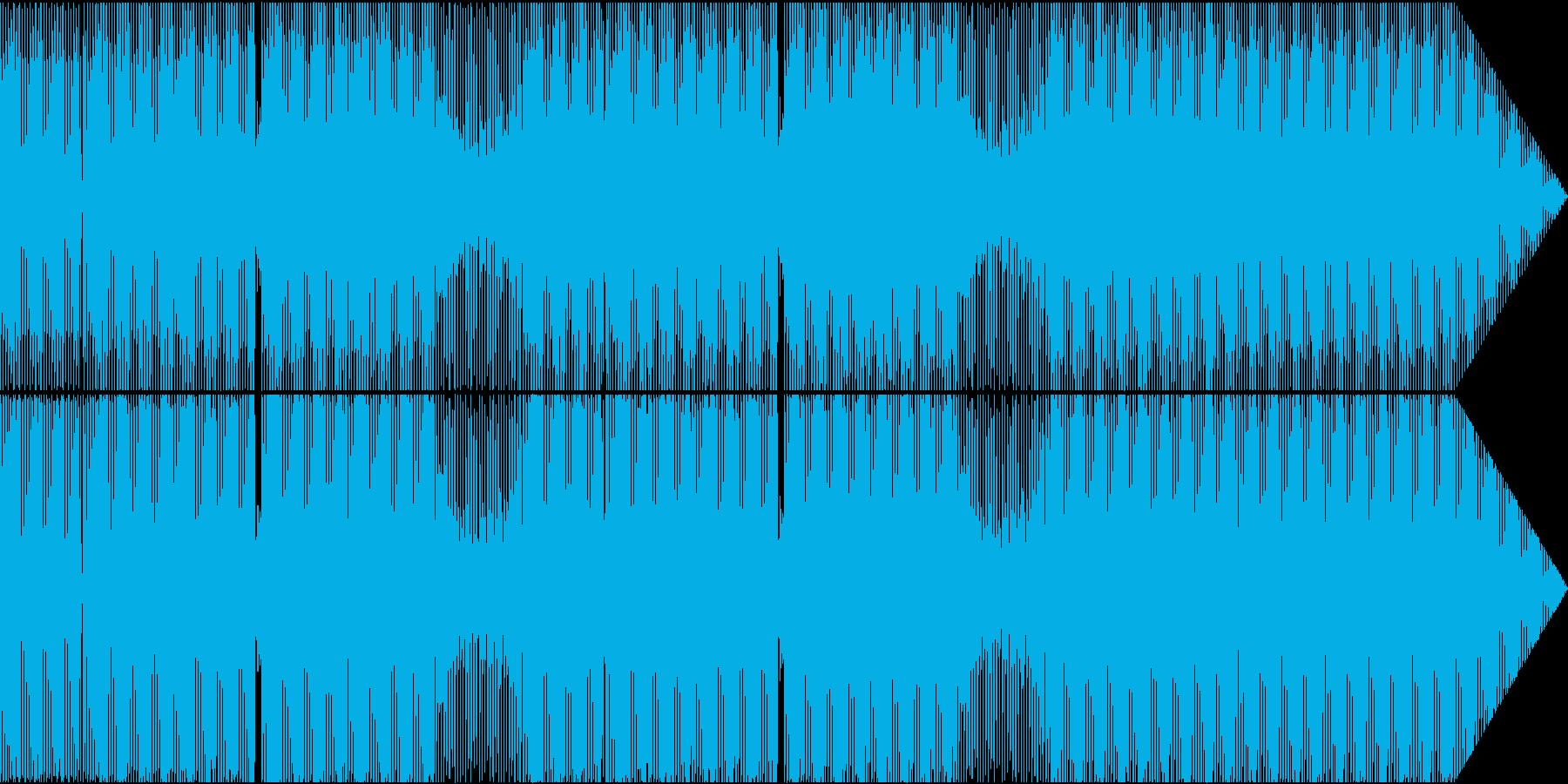 心地よいファンキーなポップミュージックの再生済みの波形