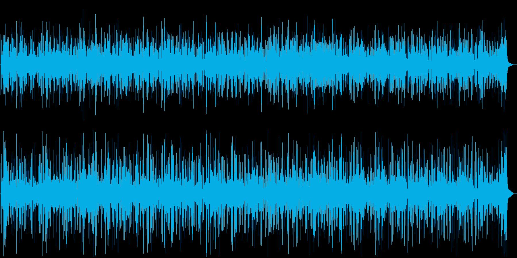 優しいロマンチックなボサノバジャズピアノの再生済みの波形