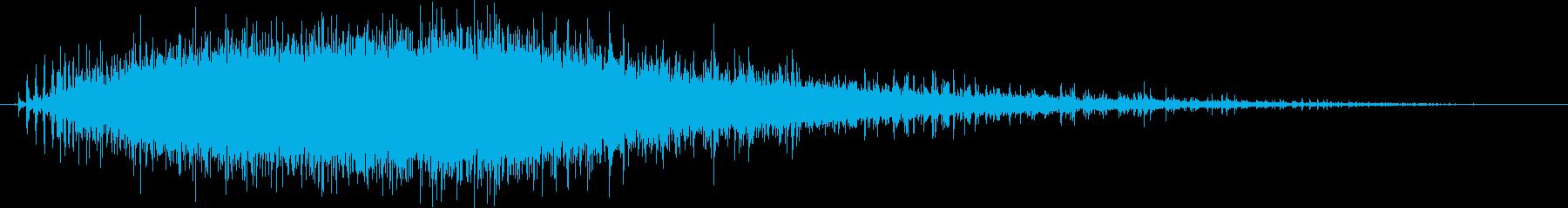 キュイーン(電動ドリルの音)mediumの再生済みの波形