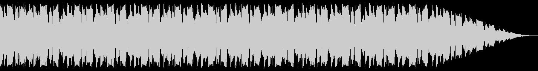 ギター・ベースのユニゾンが軽快なインストの未再生の波形