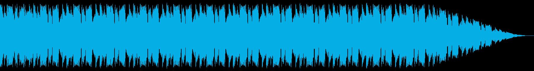 ギター・ベースのユニゾンが軽快なインストの再生済みの波形