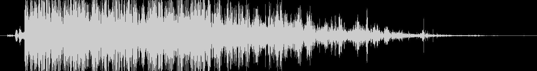 ロック 大きなロールドロップ02の未再生の波形