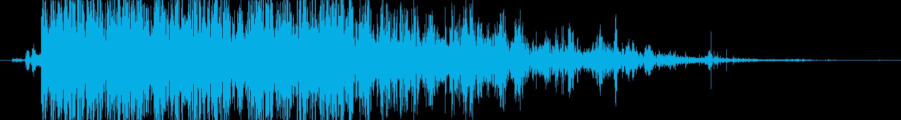 ロック 大きなロールドロップ02の再生済みの波形