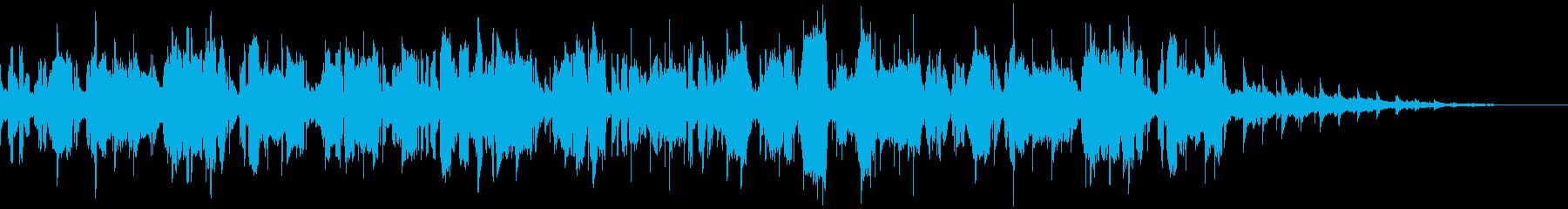 イングリッシュホルンによるスローナンバーの再生済みの波形