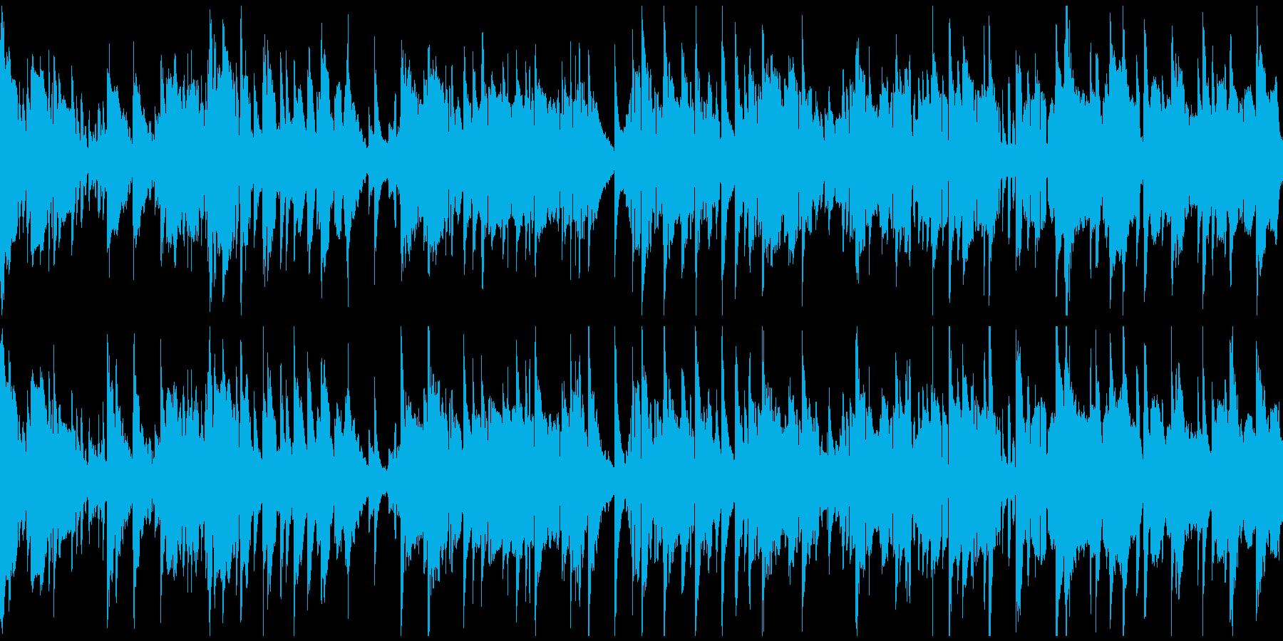 艶やかロマンチックなサックス ※ループ版の再生済みの波形