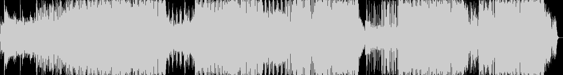 洋楽っぽいダンス楽曲(ラップ)の未再生の波形