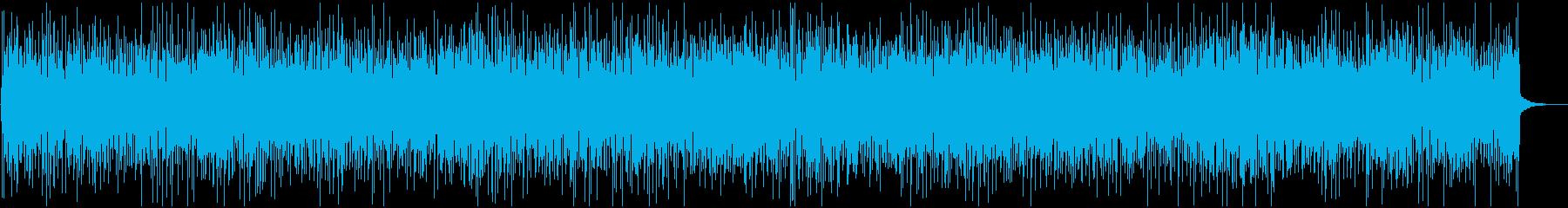 バンジョー中心の明るく軽快なブルーグラスの再生済みの波形