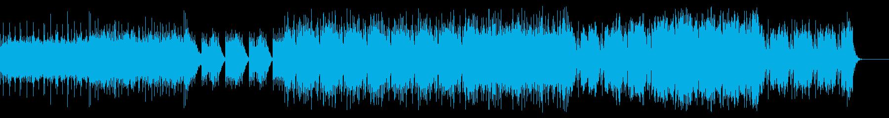 インド楽器を使ったブレイクビーツの再生済みの波形