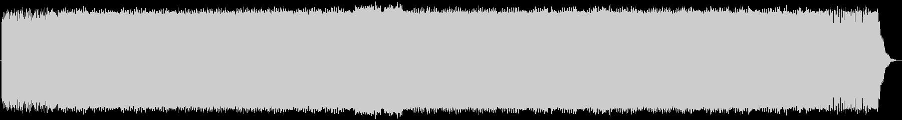 ノリのいいアシッドテクノの未再生の波形