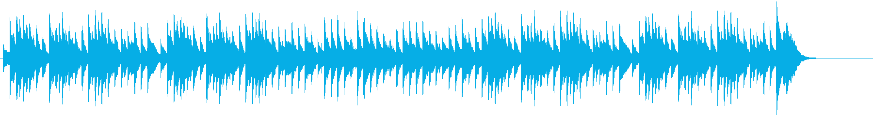 Music box style of famous Christmas song by CM's reproduced waveform
