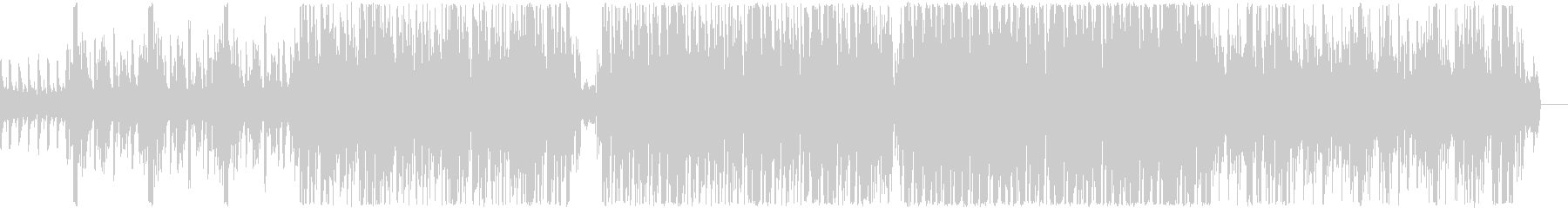 Somehow a funky feel's unreproduced waveform