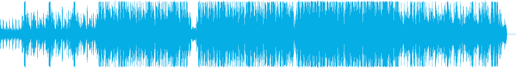 Somehow a funky feel's reproduced waveform