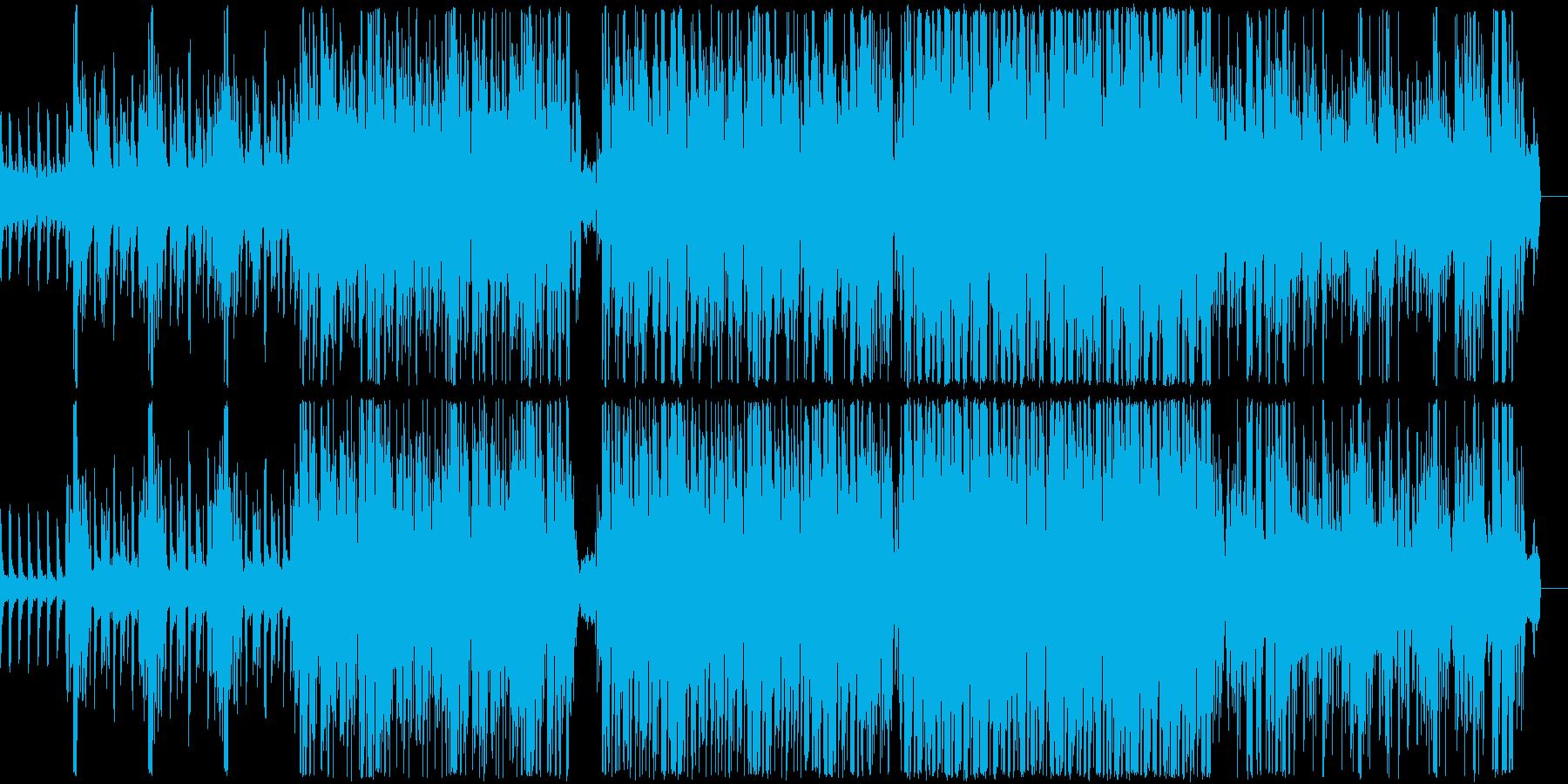なんとなくモヤモヤした感じのファンクの再生済みの波形