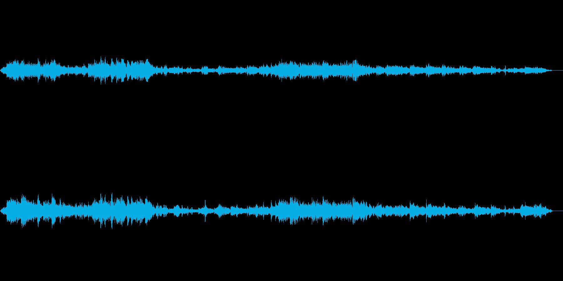 音楽;隣の部屋から女性ボーカルのあ...の再生済みの波形