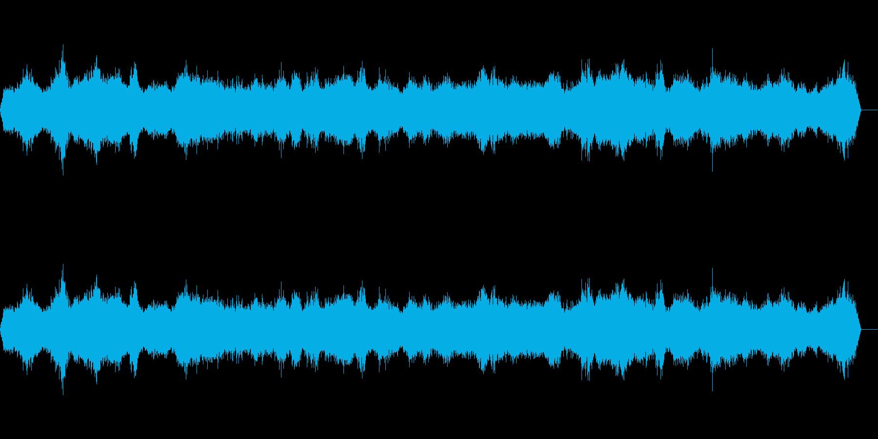 海の波の再生済みの波形