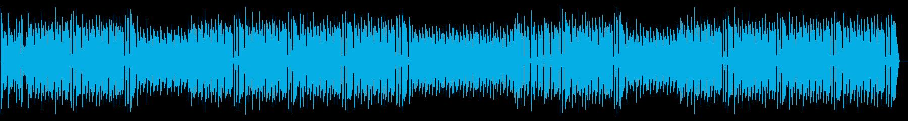 パリピ感のあるパーティーミュージックの再生済みの波形