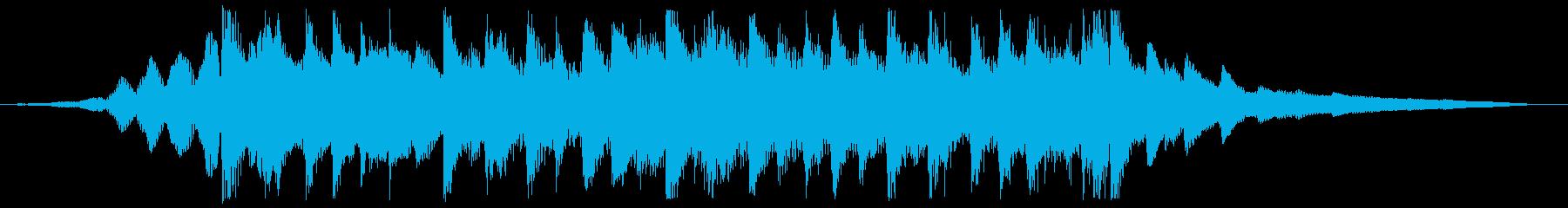 CM用14秒、次世代、スタイリッシュ製品の再生済みの波形