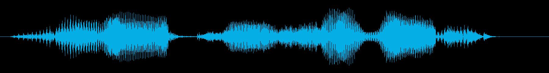 働く車 - 油圧ショベルの再生済みの波形