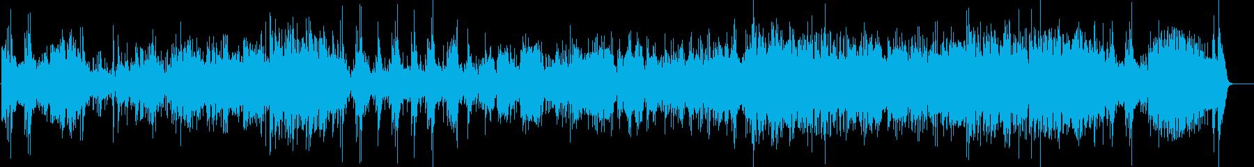 クールで華やかな高速ビッグバンドジャズの再生済みの波形