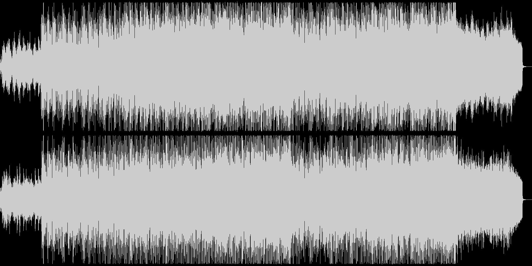 アコギとストリングスの好印象テクノポップの未再生の波形