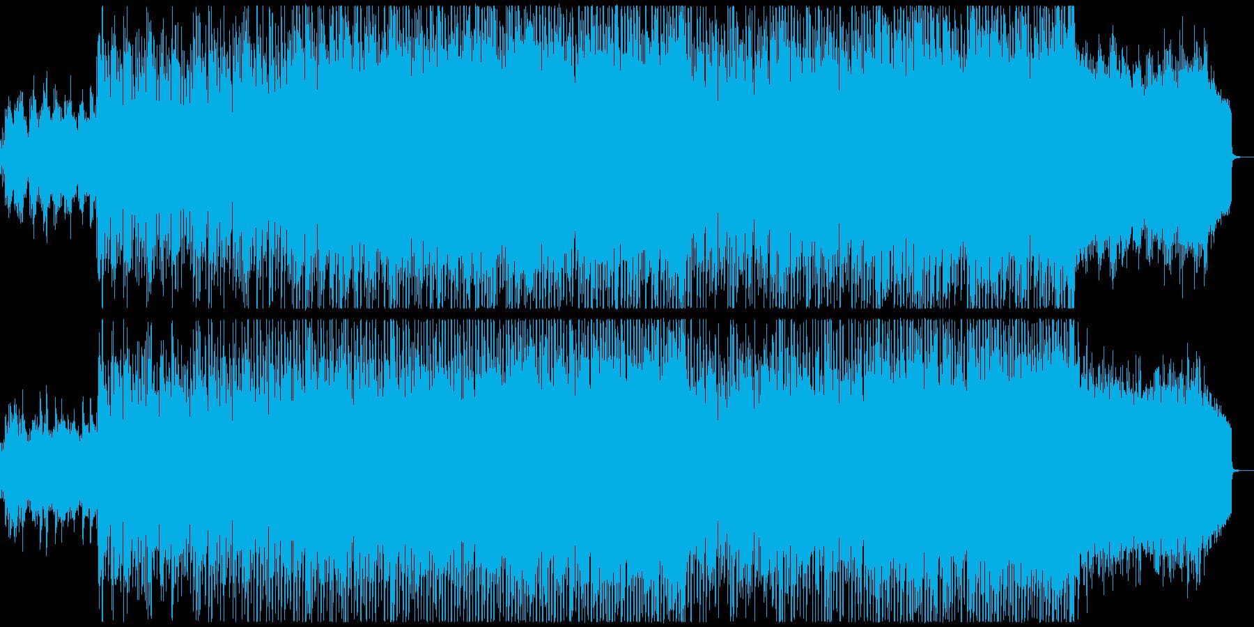 アコギとストリングスの好印象テクノポップの再生済みの波形