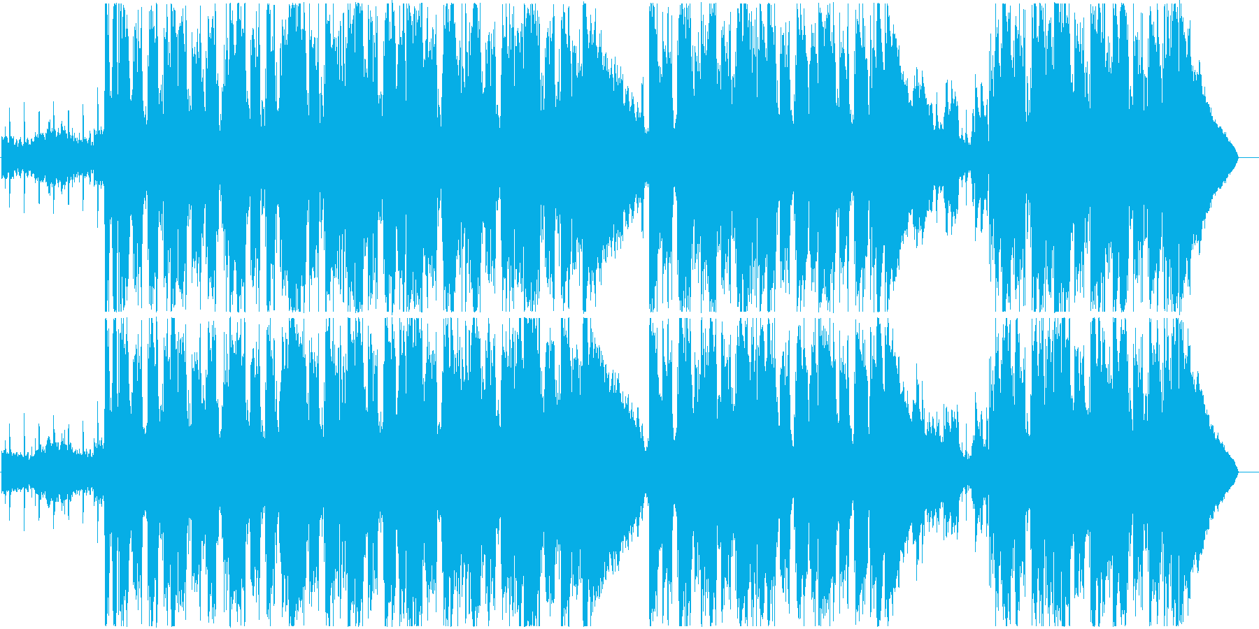 クールでエキゾチックなチルアウトの再生済みの波形