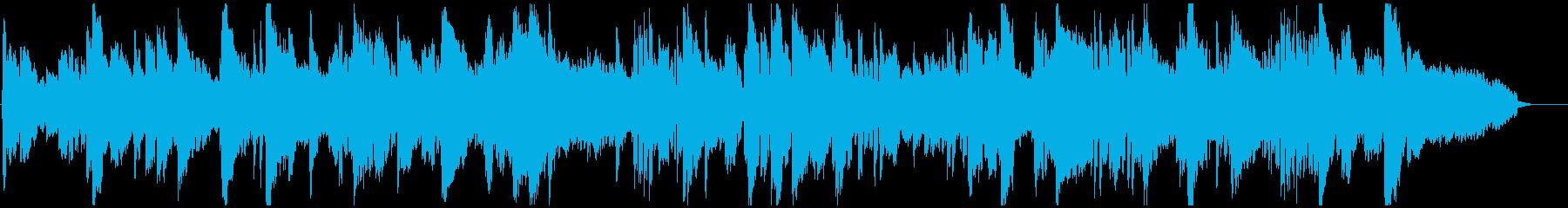 ゆっくり優しいエレピとサックスのバラードの再生済みの波形