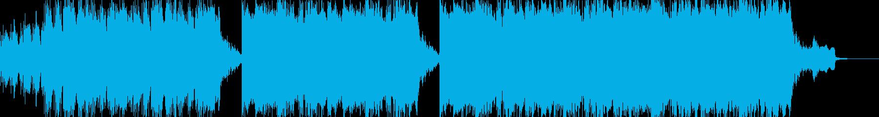 現代の交響曲 劇的な 心に強く訴え...の再生済みの波形