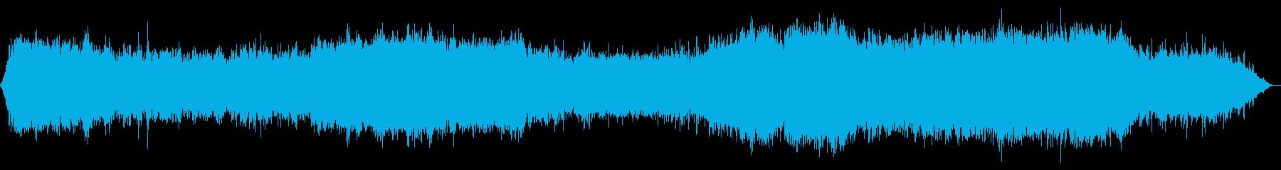 ノスタルジックで幻想的な楽曲の再生済みの波形