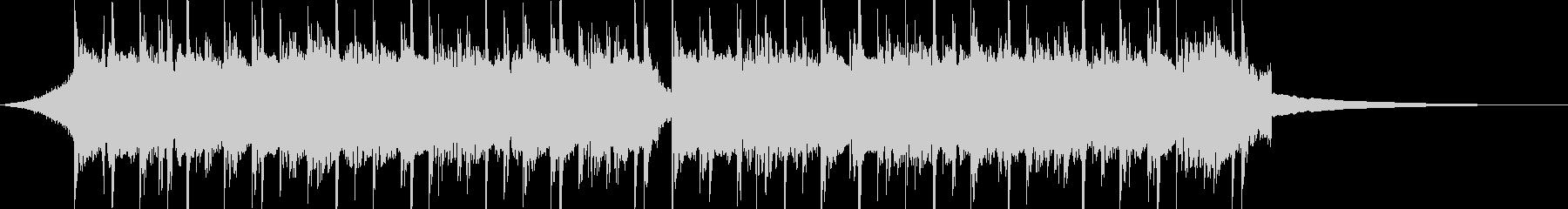 CM30秒、おしゃれなギターのトラックの未再生の波形