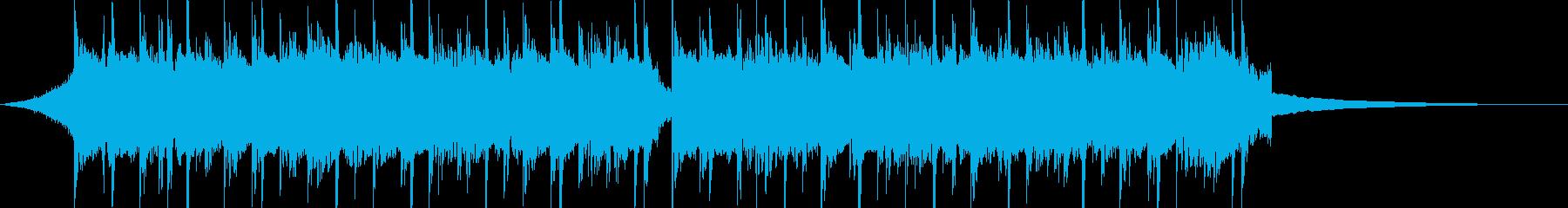 CM30秒、おしゃれなギターのトラックの再生済みの波形