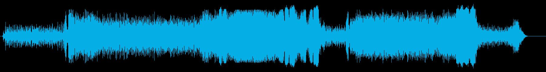 ドラッグスター;アイドル/回転/オ...の再生済みの波形