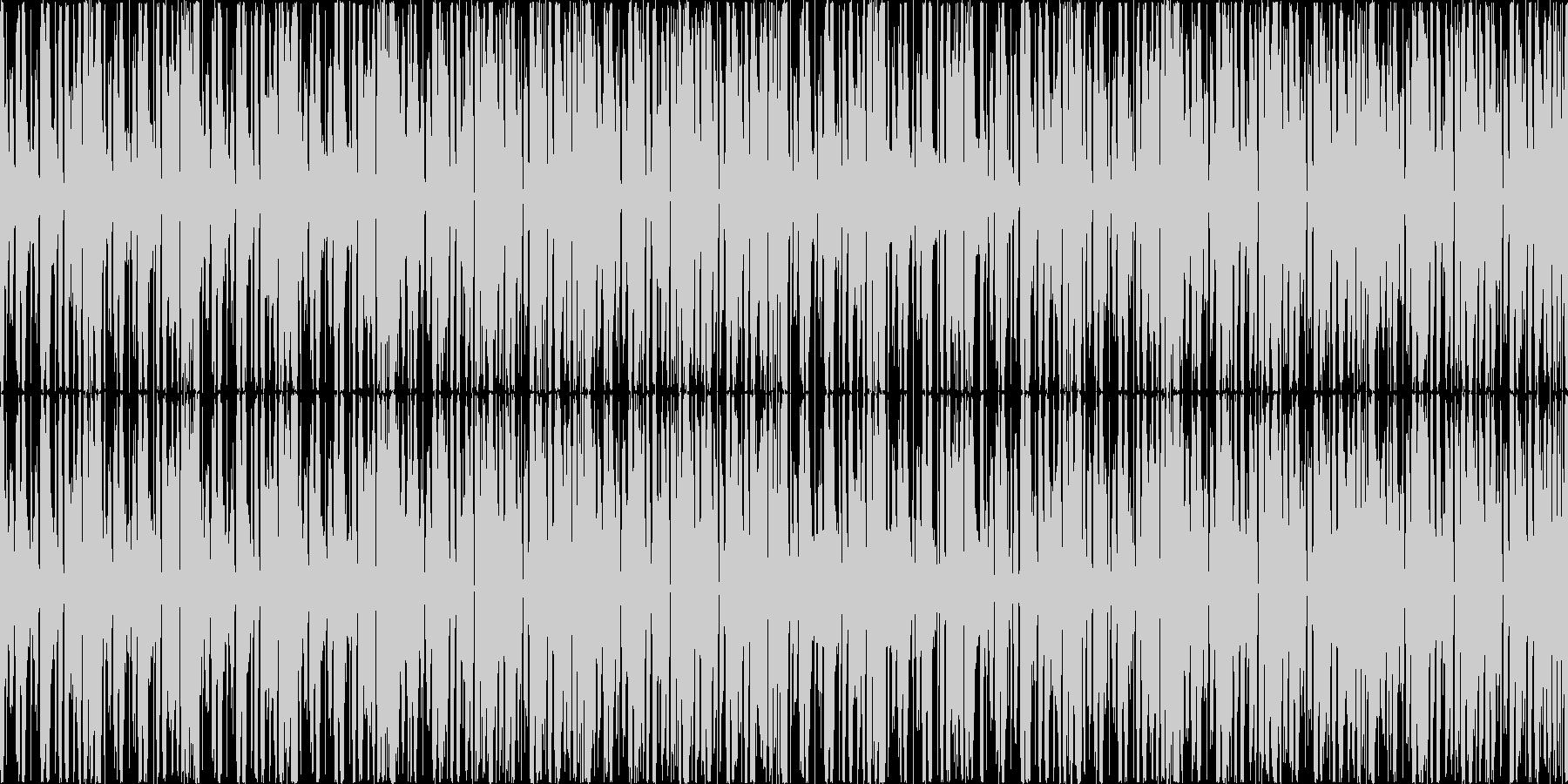 ゲームの選択画面などで使えるBGMの未再生の波形