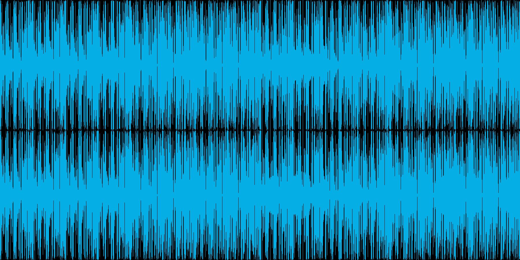 ゲームの選択画面などで使えるBGMの再生済みの波形
