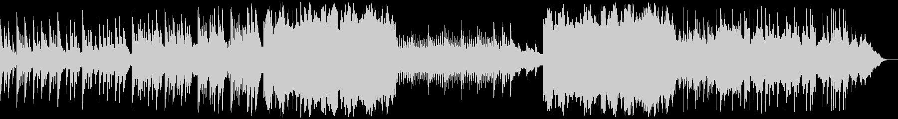 凛と上品なハープが印象的な寂しげな音楽の未再生の波形