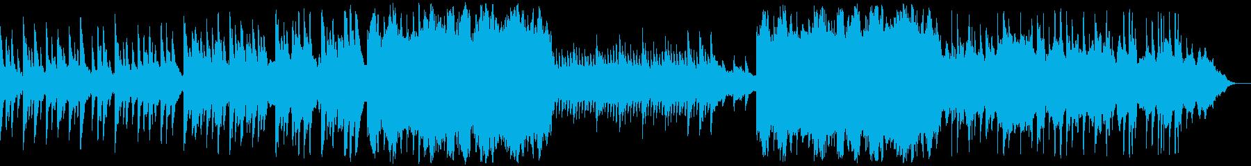 凛と上品なハープが印象的な寂しげな音楽の再生済みの波形