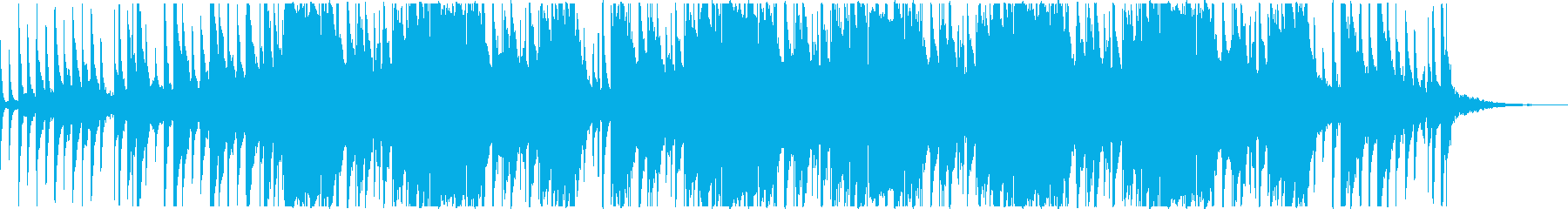 Lo-Fi Hip Hop(ノイズあり)の再生済みの波形