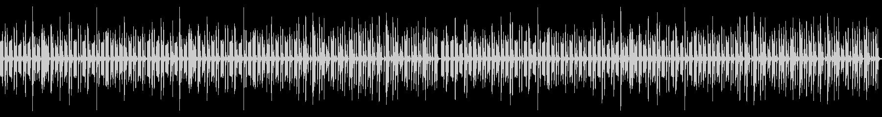 動画向けゆるい雰囲気の日常系ピアノの未再生の波形