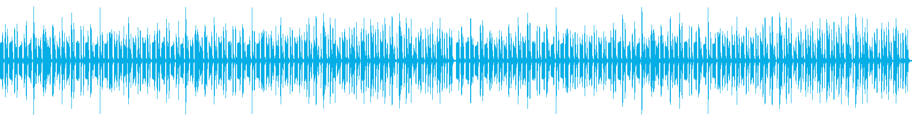 動画向けゆるい雰囲気の日常系ピアノの再生済みの波形