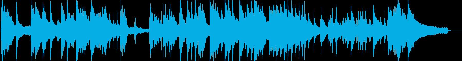 季節が変わる切なさを表現したピアノソロの再生済みの波形