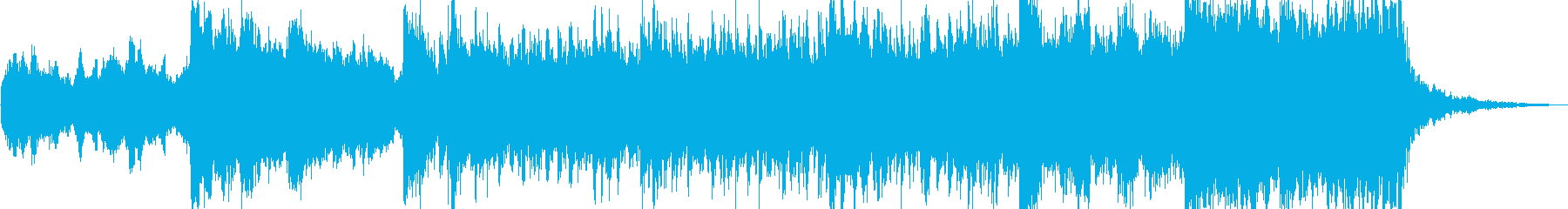 雄大な威厳あるオーケストラトラックの再生済みの波形