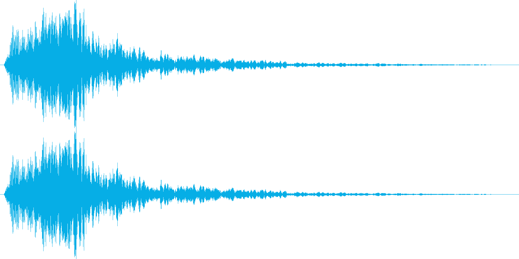 ワーオ1【セクシー、ギャグ】の再生済みの波形