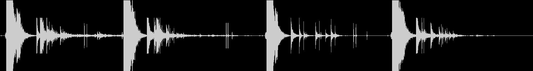 ハンドガン:シューティング4ポップ...の未再生の波形