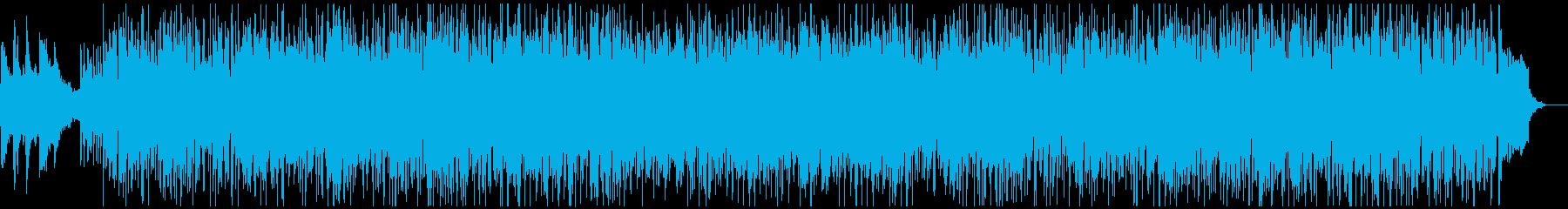 軽快で明るいピアノSaxお洒落なボサノバの再生済みの波形