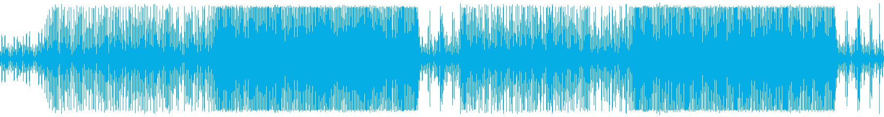 Heartful Musicの再生済みの波形