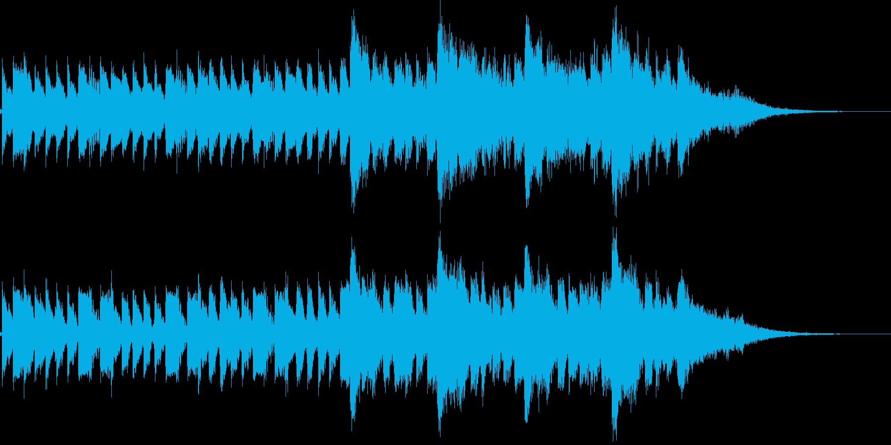 琴 ストリングス ジングル サウンドロゴの再生済みの波形