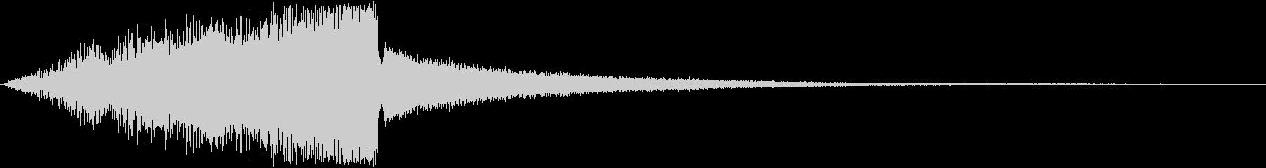 存在感溢れるタイトルロゴ (映画・映像)の未再生の波形