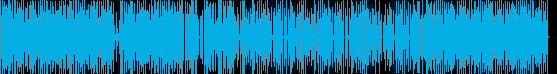 リズムとベースのんの再生済みの波形